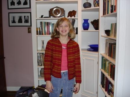 Em's Gryffindor Sweater